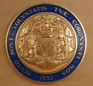 Maryland Seal with rim color