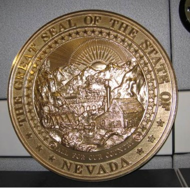 Nevada Seal Bronze Ox