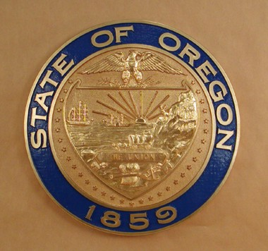 Arizona State Representatives >> OREGON STATE WALL SEAL