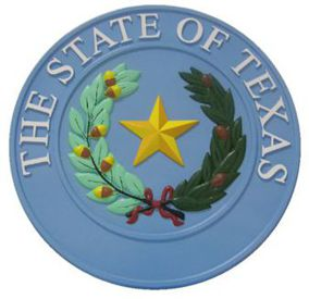Texas Full Color Seal