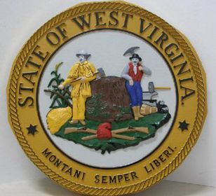 West Virginia Full Color Seal