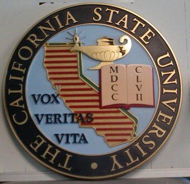 California State University Wall Seal