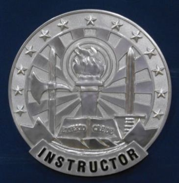 Instructor Badge Wall Seal