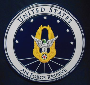"Air Force Reserve 15"" Wall Seal"