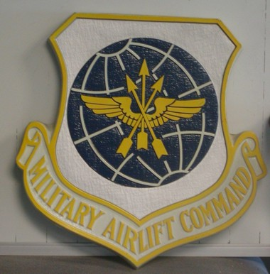 Military Airlift Command Wall Seal