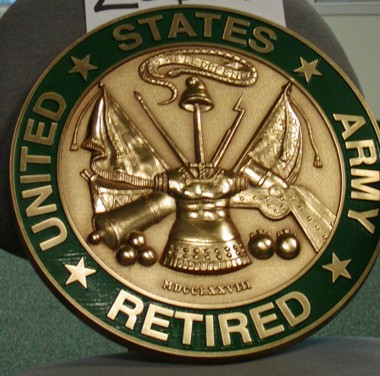 U.S. Army Retired Wall Seal