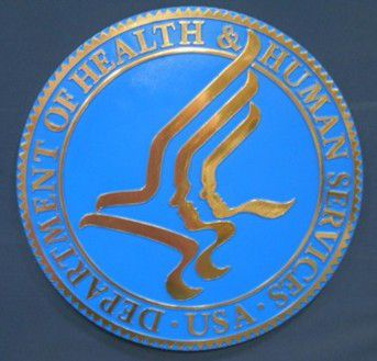 DHHS Bronze Ox Seal