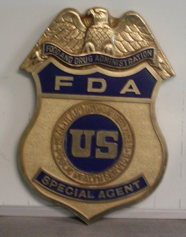 DHHS_ FDA Special Agent Badge