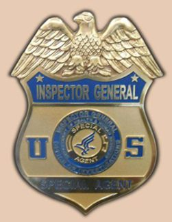 DHHS_IG /Office of Investigations / Special Agent Wall Seal