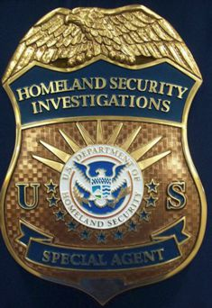 DHS_HSI Special Agent Badge with fog