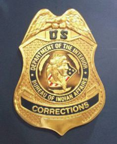 U. S. Department of Interior / Bureau of Indian Affairs Corrections Officer Seal