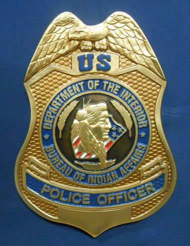 U. S. Department of Interior / Bureau of Indian Affairs Police Officer Seal