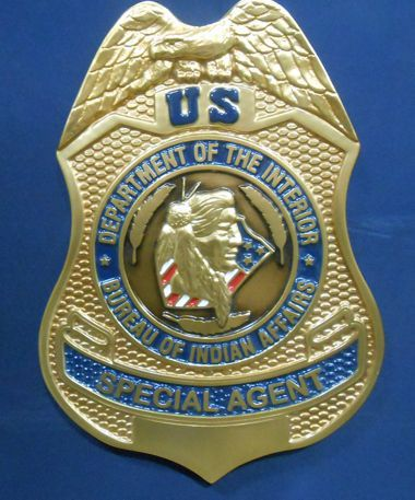 U. S. Department of Interior / Bureau of Indian Affairs Special Agent Seal