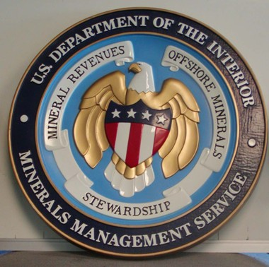 Department of Interior Seal   Minerals Management ServicesDepartment Of Interior Seal