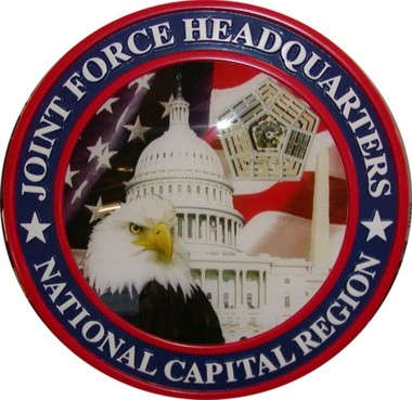 "Dept of Defense / Joint Forces Headquarters / Nation´s Capitol 15"" Seal"