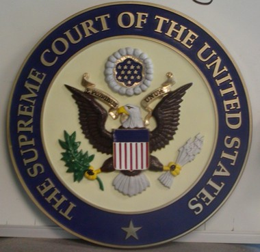 Supreme Court Of The United States Wall Seal Www Dondero Com