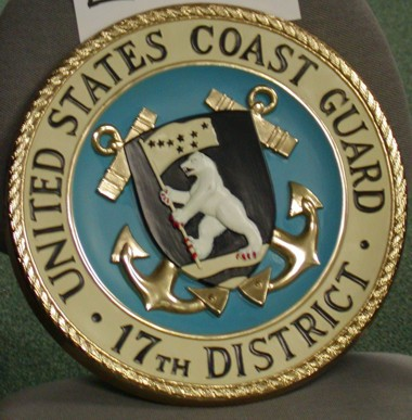 U.S. Coast Guard 17th District Seal