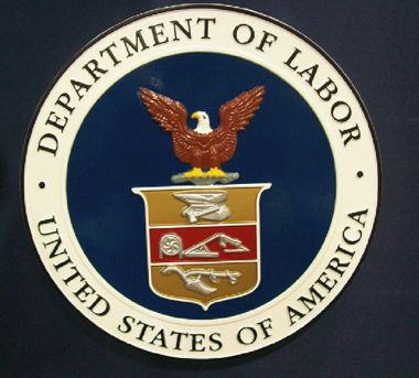 Department of Labor Wall Seal