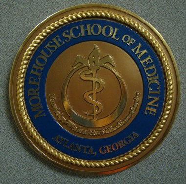 Morehouse School of Medicine Podium Seal