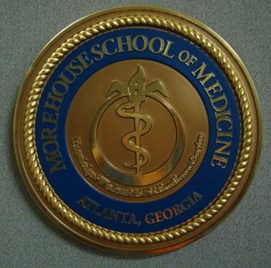 Morehouse School of Medicine Wall Seal / www dondero com